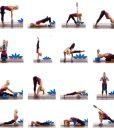 Bài tập với gạch – gối yoga