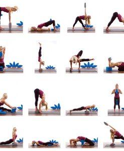 Bài tập với gạch - gối yoga