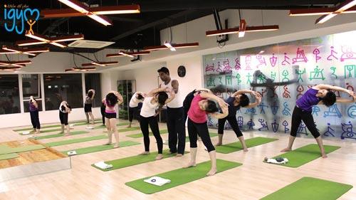 Phòng tập Igym Fitness & Yoga