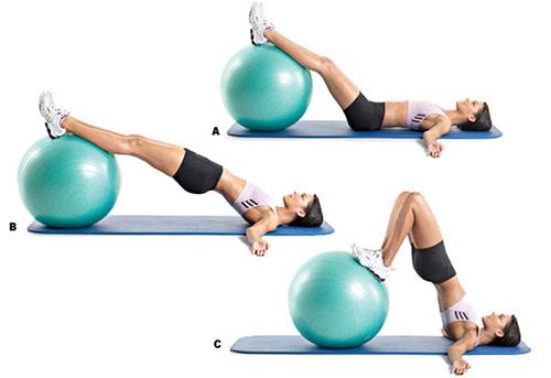 Bóng tập Yoga - Gym (bài tập nhẹ nhàng)