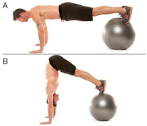 Bóng tập Yoga - Gym (bài tập đốt cháy calo)