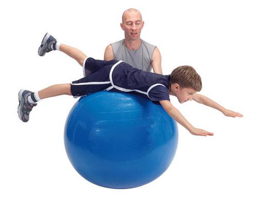 Bóng tập Yoga - Gym dùng trong trị liệu bệnh tự kỷ, chậm phát triển vận động và bại não