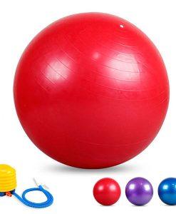 Bóng tập Yoga - Gym loại trơn BT-6575D (Màu đỏ)