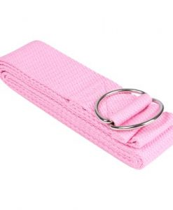 Dây tập yoga cotton màu hồng nhạt