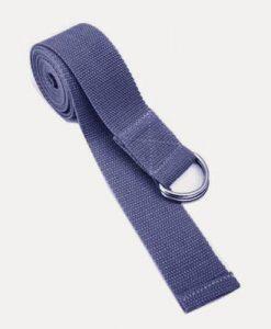 Dây tập yoga cotton màu tím nhạt
