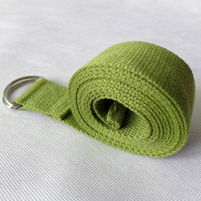Dây tập yoga cotton màu xanh lá