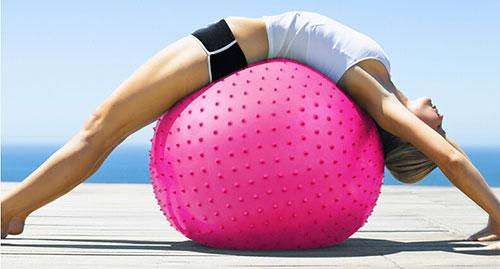 Bóng tập Yoga-Gym gai massage