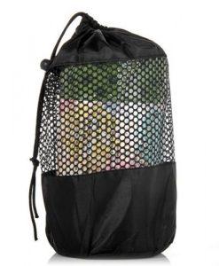 Túi đựng khăn trải thảm tập yoga silicon xanh lá