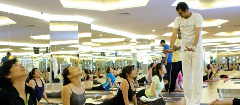 Phòng tập yoga tại Hà Nội
