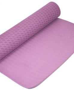 Thảm tập Yoga Mat 2 lớp 6mm YM-602TN (Tím nhạt)
