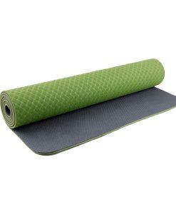 Thảm tập Yoga TPE 2 lớp 6mm YM-602L (Xanh lá)
