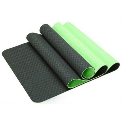 Thảm tập Yoga Mat 2 lớp 6mm YM-602XR (xanh rêu)
