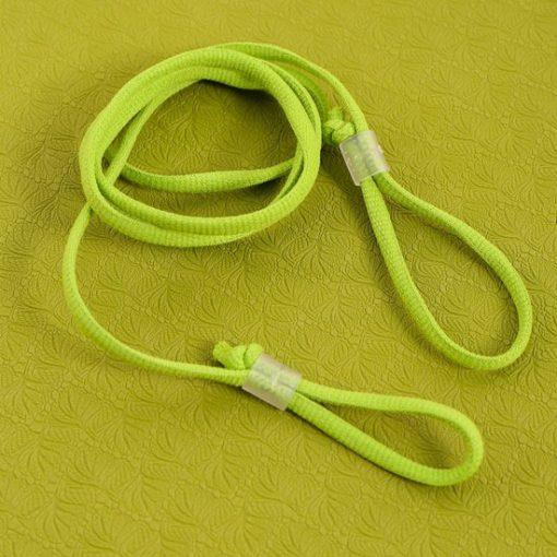 Thảm tập Yoga Mat 1 lớp - xanh lá (dây buộc)