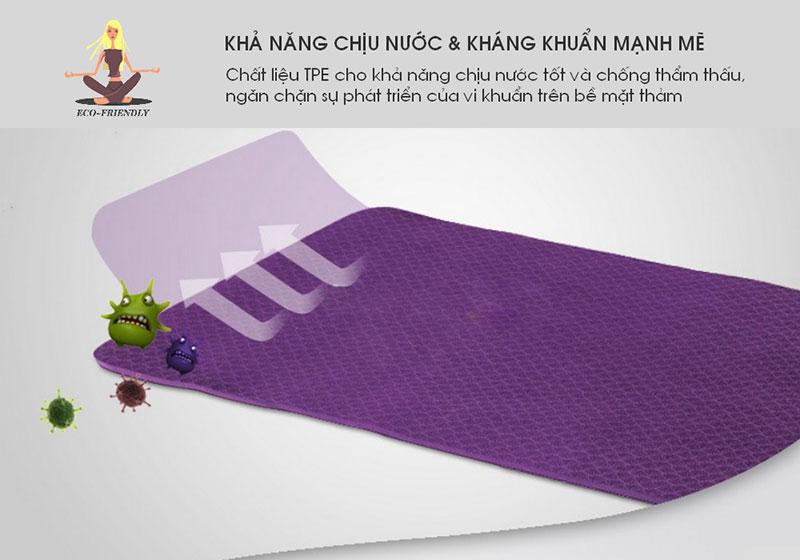 Thảm tập yoga TPE có tính kháng khuẩn