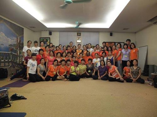 Phòng tập yoga AD Hà Nội