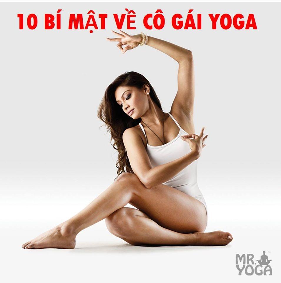 10 bí mật về cô gái yoga