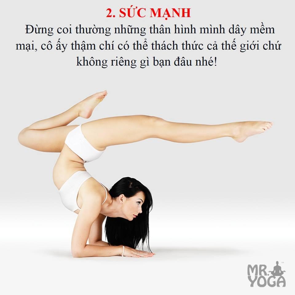 10 bí mật về cô gái Yoga - Sức mạnh