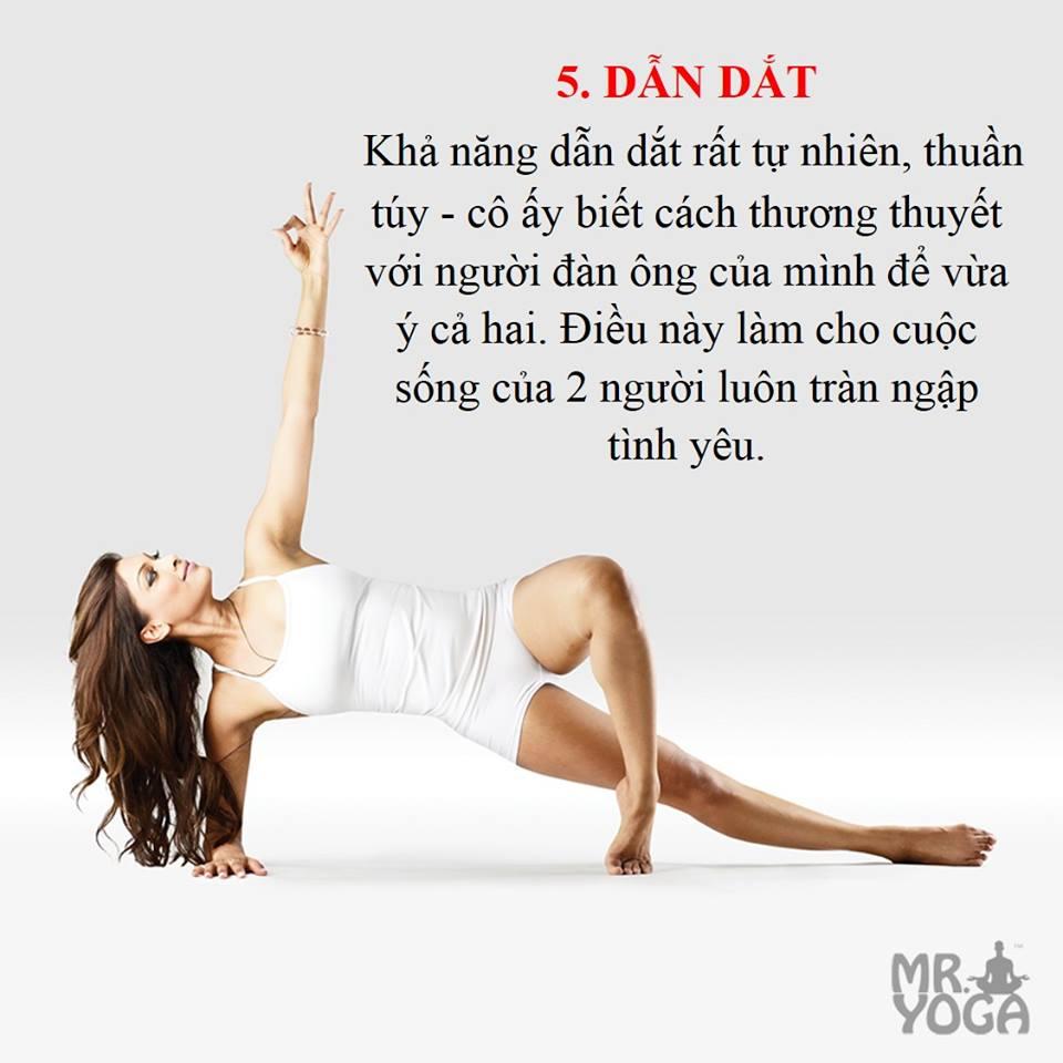 10 bí mật về cô gái Yoga - Dẫn dắt