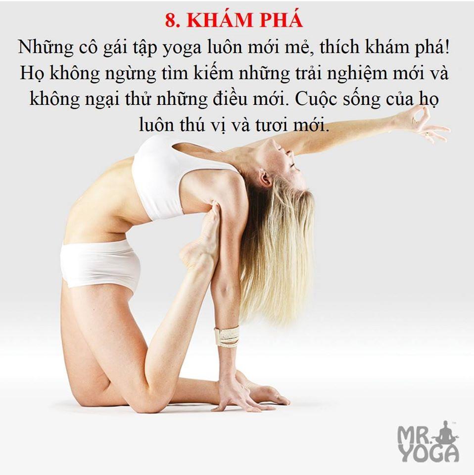 10 bí mật về cô gái Yoga - Khám phá