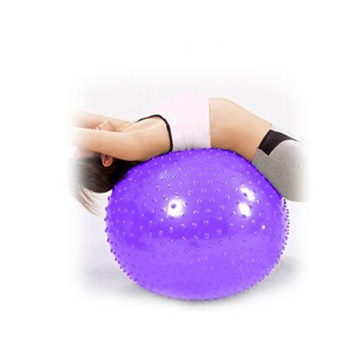 Bóng tập Yoga-Gym gai massage BG-6575T (Màu tím)