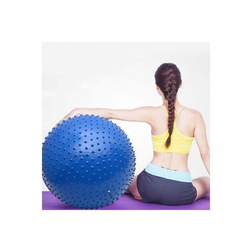 Bóng tập Yoga-Gym gai massage BG-6575XD xanh dương