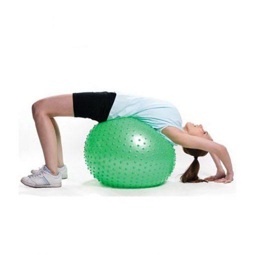 Bóng tập Yoga-Gym gai massage BG-6575L (Xanh lá)