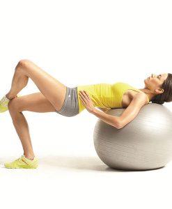 Bóng tập Yoga - Gym loại trơn BT-6575B (Màu bạc)