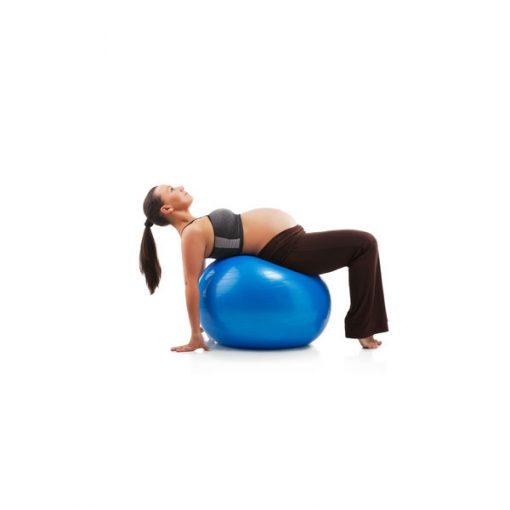 Bóng tập Yoga - Gym loại trơn BT-6575XD (Xanh dương)