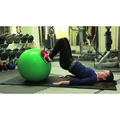 Bóng tập Yoga-Gym loại trơn BT-6575L (Xanh lá)