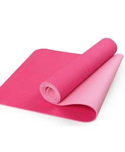 Thảm tập Yoga Mat 2 lớp 6mm YM-602D (màu đỏ)