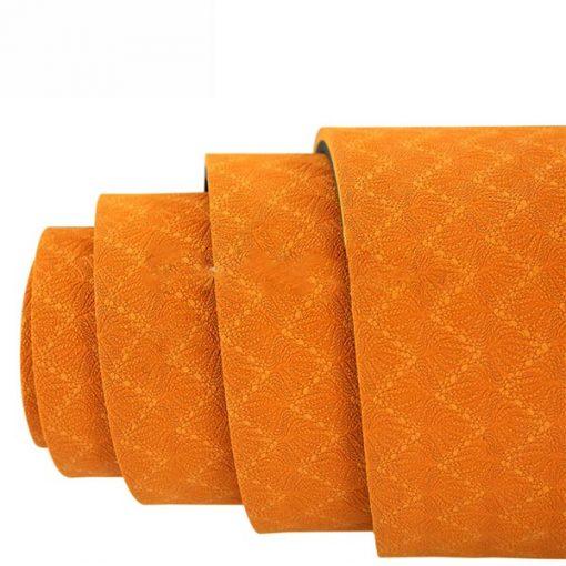 Thảm tập Yoga Mat 1 lớp - màu cam