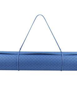 Thảm tập Yoga Mat 1 lớp 6mm YM-601TN - Dây buộc