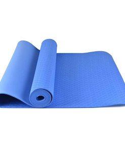 Thảm tập Yoga Mat 1 lớp 6mm YM-601XD (Xanh dương)