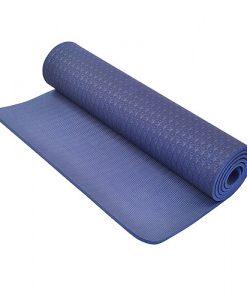 Thảm tập Yoga Mat 1 lớp - xanh lam