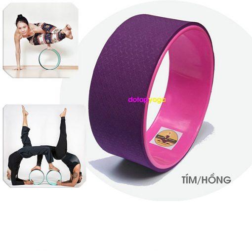 Vòng tập yoga nhựa ABS Đài Loan (Tím, Hồng)