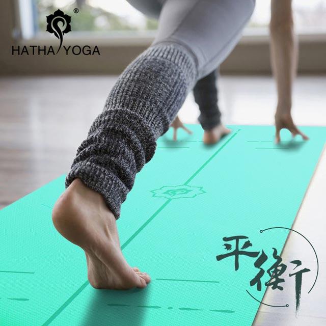 Thảm tập yoga cao cấp Hatha - Định tuyến chuẩn