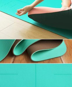 Thảm tập Yoga cao cấp Hatha màu xanh ngọc