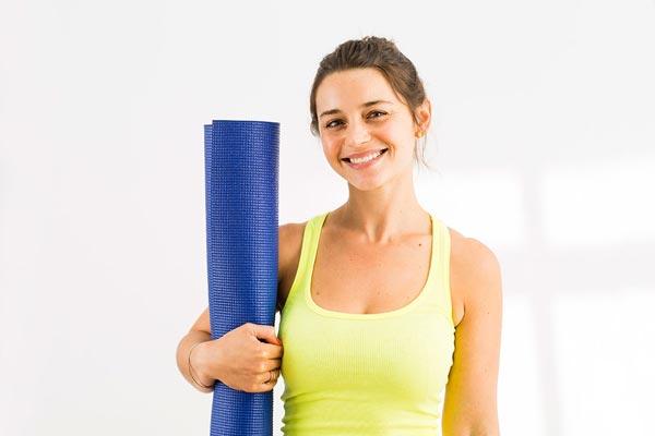 Hài lòng về cách vệ sinh thảm tập yoga