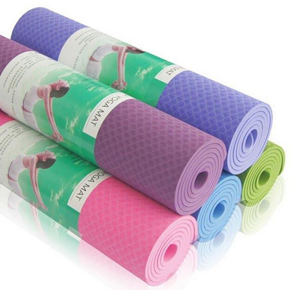 Thảm tập Yoga TPE Đài Loan 1 lớp 8mm