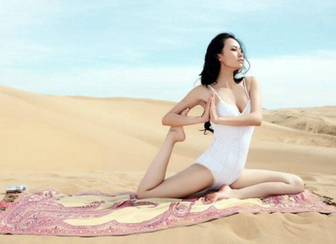 Đệ nhất mỹ nữ Yoga Trung Quốc Mu Qi Mi Ya (Mẫu Kỳ Di Nhã)