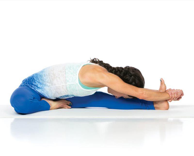 Tư thế yoga đầu sát gối – Janu Sirsasana