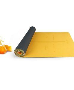 Thảm tập yoga định tuyến Hatha - Vàng