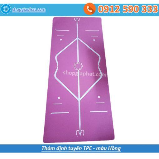 Thảm tập yoga TPE định tuyến