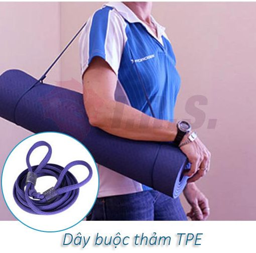 Dây buộc thảm tập yoga TPE