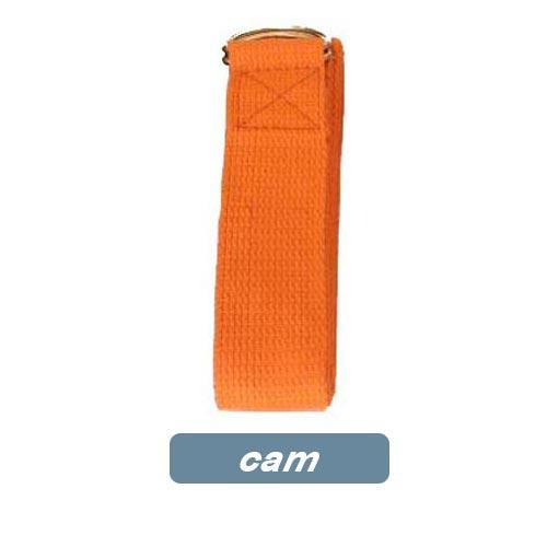 Dây đai hỗ trợ tập yoga sợi cotton - Cam