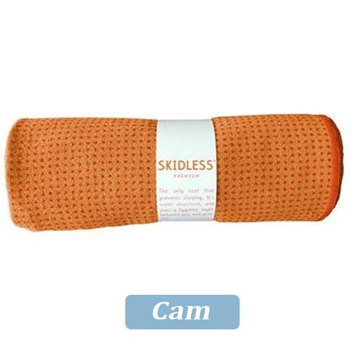 Khăn trải thảm tập yoga Silicon - Cam
