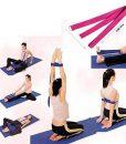 Một số bài tập với Dây đai hỗ trợ tập yoga sợi cotton