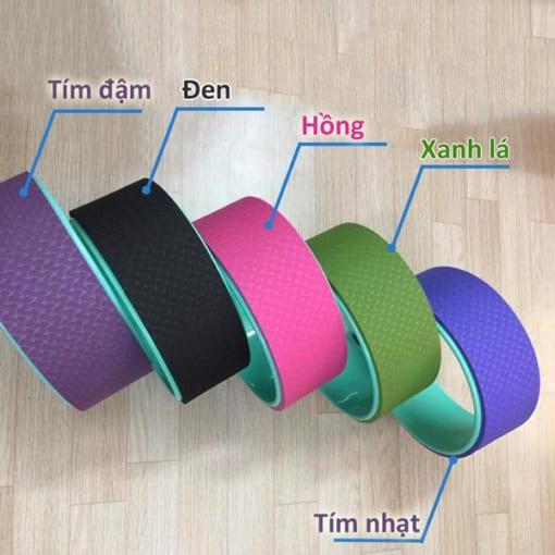 Vòng tập yoga nhựa ABS