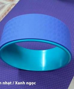 Vòng tập yoga nhựa ABS màu Tím nhạt/Xanh ngọc