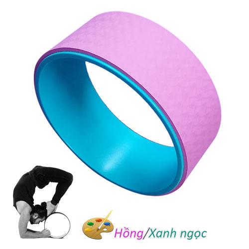 Vòng tập Yoga nhựa ABS Đài Loan - Hồng/Xanh ngọc